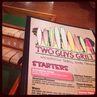 Photo taken at Two Guys Grille by Justin F. on 12/27/2012