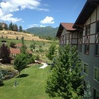 Photo taken at Zermatt Resort & Spa by Courtney S. on 7/15/2013