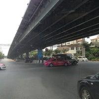 Photo taken at Prachanukun Intersection by Sagun K. on 3/11/2013