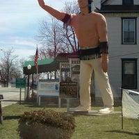 Photo taken at Montpelier Indian by Karen T. on 4/5/2013