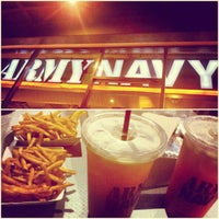 Photo taken at Army Navy Burger + Burrito by LJ A. on 1/13/2013
