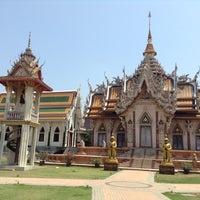 Photo taken at วัดศีรษะทอง (วัดพระราหู) Wat Sisa Thong by Thachaporn M. on 4/20/2013