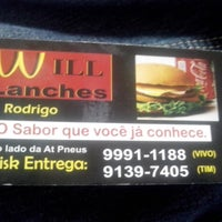 Photo taken at Will Lanches by Rogerio C. on 7/23/2013