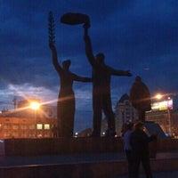 Снимок сделан в Площадь Ленина пользователем Andrey L. 9/18/2012