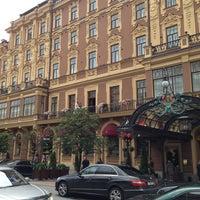 Снимок сделан в Гранд Отель Европа пользователем Ася Н. 8/2/2013