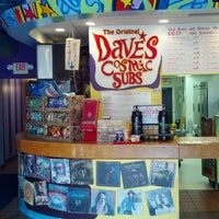 Photo taken at Dave's Cosmic Subs by Chad B. on 5/18/2013