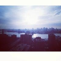 Photo taken at Manhattan Mini  Storage - South St by Mark L. on 12/31/2012