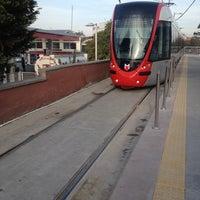 Photo taken at Cevizlibağ - A.Ö.Y. Tramvay Durağı by Sadık Ö. on 10/27/2012