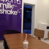 Photo taken at once upon a milkshake by JeeHyun K. on 9/6/2013