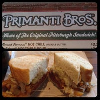 Photo taken at Primanti Bros. by Adam S. on 1/27/2013