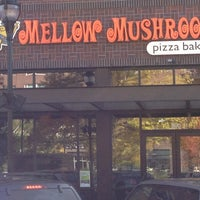 Photo taken at Mellow Mushroom by Ali R. on 10/16/2012