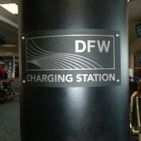 Photo taken at DFW Charging Station Gate C11 by Jamie on 6/25/2013