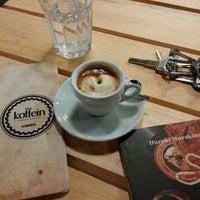 Photo taken at Koffein by Nenad M. on 11/5/2014