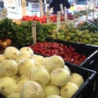 Photo taken at Italian Market by Kara L. on 5/8/2013