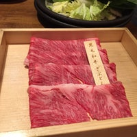 Photo taken at Shabu Shabu Onyasai by Angel C. on 1/16/2015