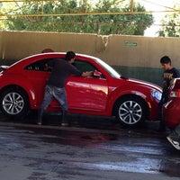 Photo taken at Autolavado Estrella by Adrián S. on 2/15/2014