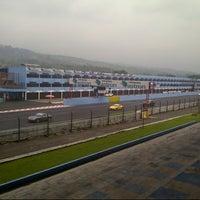 Photo taken at Podium Sirkuit Sentul by Yuyun S. on 10/27/2012