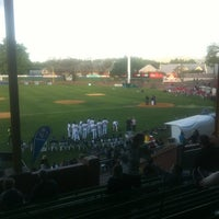 Photo taken at Cooper's Stadium by Mark A. on 11/1/2012