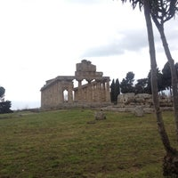 Photo taken at Paestum by Laila D. on 3/4/2017
