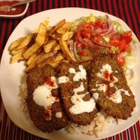 Photo taken at Istanbul Kebab House by Gonz on 4/26/2013