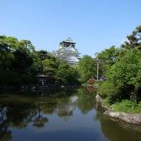 Photo taken at 大阪城日本庭園 by ken2go2 on 5/1/2015