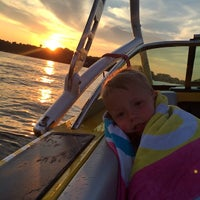 Photo taken at Jennings Bay, Lake Minnetonka by Malorie L. on 8/14/2014