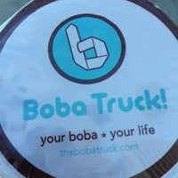 Photo taken at The Boba Truck by Jen P. on 1/12/2013
