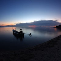 Photo taken at Blue Marine by Paan J. on 4/6/2014