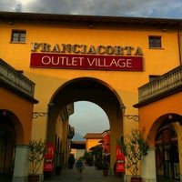 Photo taken at Franciacorta Outlet Village by Luthfi S. on 7/25/2013