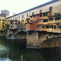 Photo taken at Ponte Vecchio by Luthfi S. on 7/21/2013