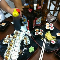 Photo taken at Sushi Redentor by Fernanda L. on 4/28/2013