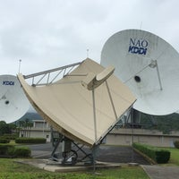 Photo taken at KDDI パラボラ館 by にやりん on 6/28/2014
