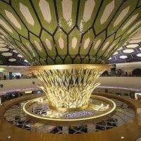 Photo taken at Abu Dhabi International Airport (AUH) by Visit Abu Dhabi on 4/25/2013