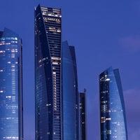 Photo taken at Jumeirah at Etihad Towers by Visit Abu Dhabi on 3/31/2013