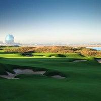 Photo taken at Yas Links Golf Course by Visit Abu Dhabi on 3/18/2013