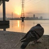 Photo taken at 高速公路橋(淡水河) by Bella W. on 5/7/2017