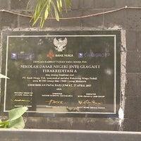 Photo taken at SD Negeri Inti Glagah by Muhibbuddin Danan Jaya on 11/13/2012