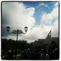 Photo taken at Museum Gunung Api Merapi by Muhibbuddin Danan Jaya on 5/17/2013