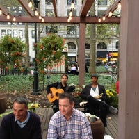 Photo taken at Southwest Porch at Bryant Park by Mike R. on 10/20/2012