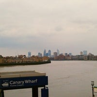 Photo taken at Canary Wharf Pier by Eugi K. on 3/31/2013