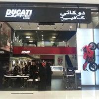 Photo taken at Ducati Caffe by Eren K. on 10/23/2012