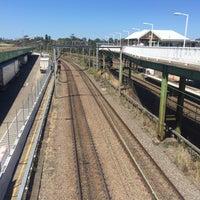 Photo taken at Flemington Station by Declan G. on 10/16/2016