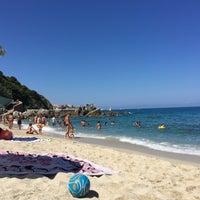 Photo taken at Spiaggia Michelino by Anna G. on 8/10/2016