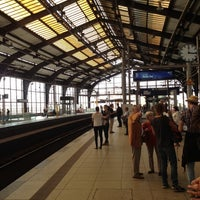 Photo taken at Berlin Friedrichstraße Railway Station by Jonathan C. on 9/17/2012