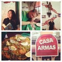 Foto tomada en Casa Armas Tapas Bar y Restaurante por Tey T. el 3/25/2013