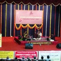 Photo taken at Bangalore Gayana Samaja by Shireesh A. on 2/6/2015