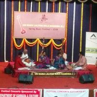 Photo taken at Bangalore Gayana Samaja by Shireesh A. on 2/8/2015