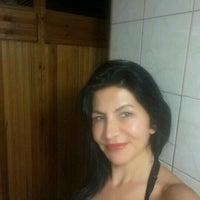 Photo taken at blue moon havuz & bar by Melisa E. on 8/10/2016