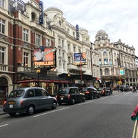 Photo taken at Shaftesbury Avenue by Ali M. on 9/4/2016