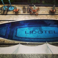 Photo taken at Lidotel Hotel Boutique by Hugo L. on 9/27/2013